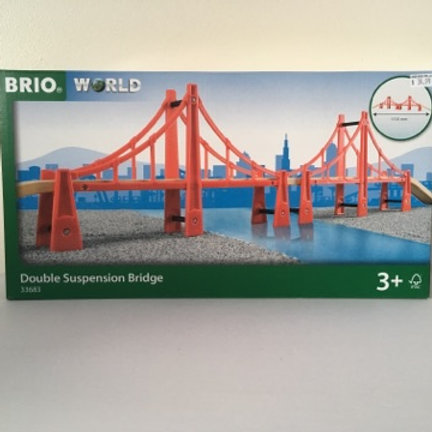Brio Double Suspension Bridge #33683