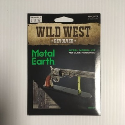 Metal Earth Wild West Revolver