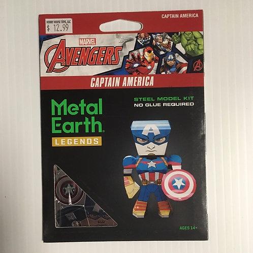 Metal Earth Avengers Captain America