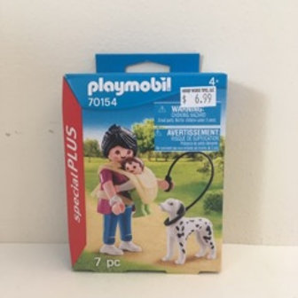Playmobil Play Scene with Dog