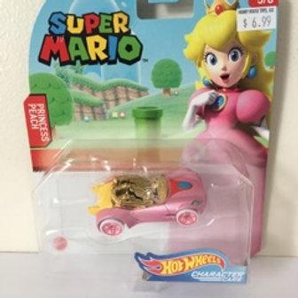 Hot Wheels Super Mario - Princess Peach Vehicle