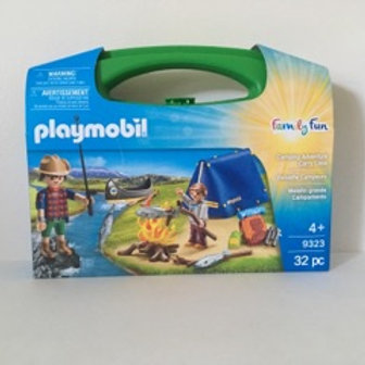 Playmobil Camping Adventure with Carry Case #9323