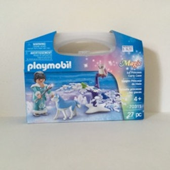 Playmobil Ice Princess with Carry Case