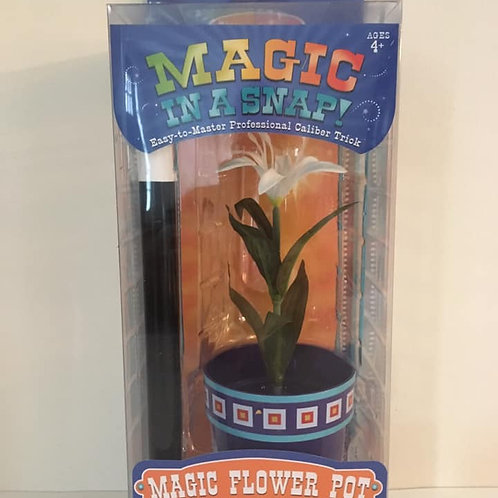 Magic Flower Pot and Wand, Magic in a snap