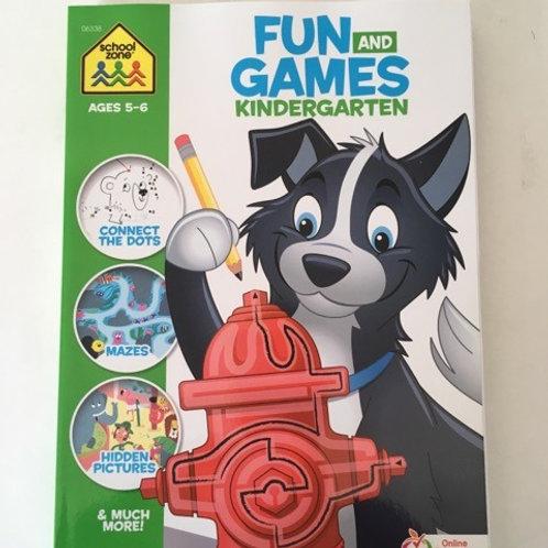 School Zone Fun and Games Kindergarten
