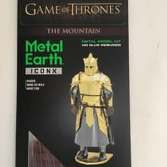 Metal Earth Game of Thrones The Mountain