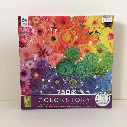 Ceaco Flower Color Story Puzzle