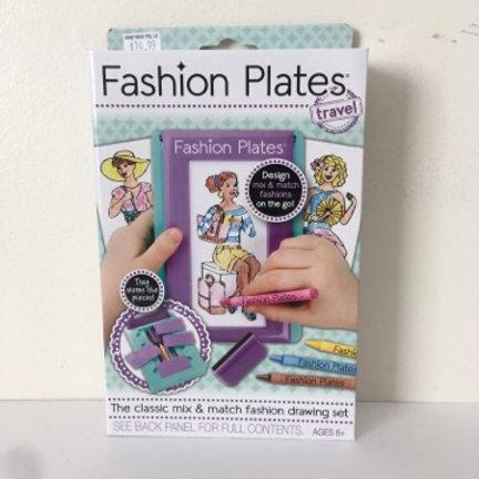 Fashion Plates - Travel Version