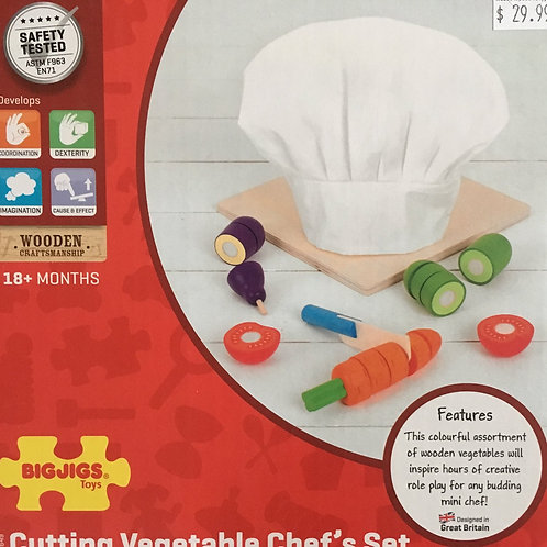 Big Jigs Cutting Vegetable Chef's Set