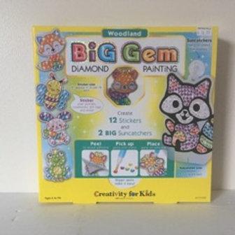 Creativity for Kids Woodland Big Gem Diamond Painting Set