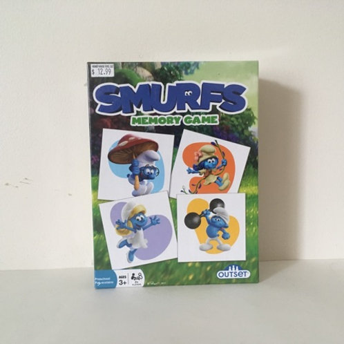 Smurfs Memory Game