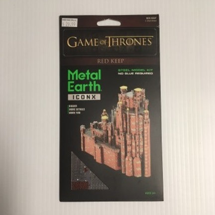 Metal Earth Game of Thrones Red Keep