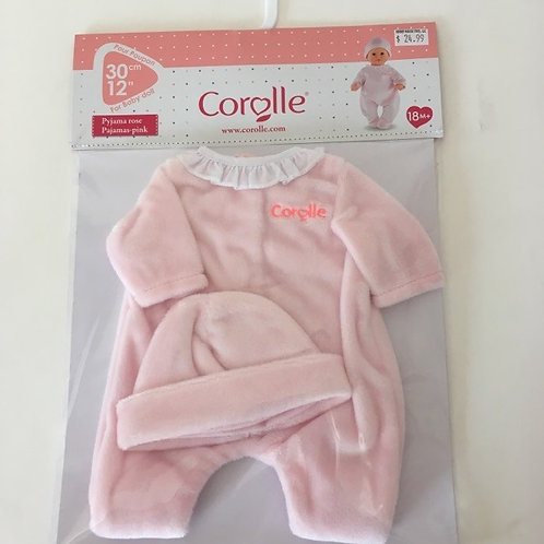 Corolle 12 inch Pink Pajamas Outfit #110010
