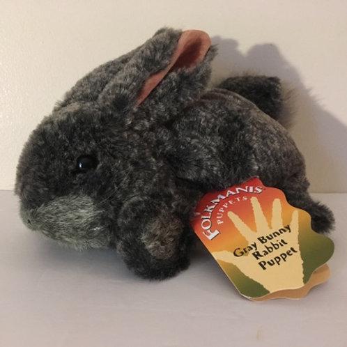 Folkmanis Gray Bunny Rabbit Puppet