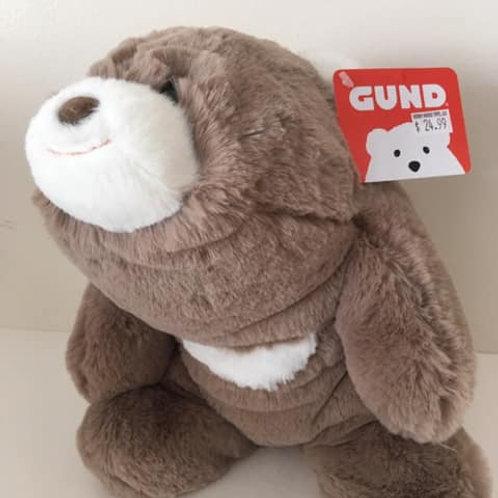 Gund SOFT Snuffles Bear plush - Gray