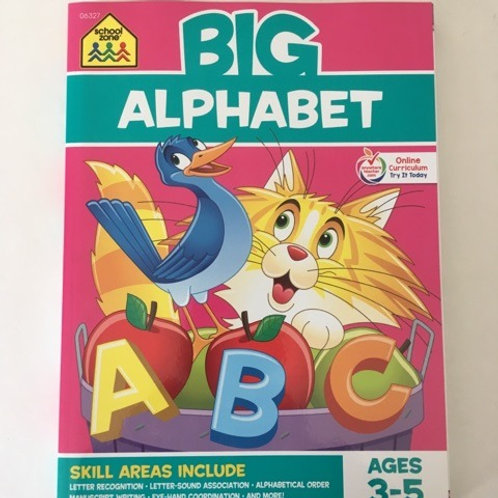 School Zone Big Alphabet Book