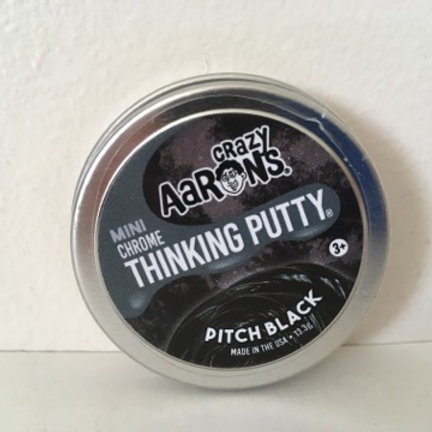 Crazy Aaron's Pitch Black Thinking Putty
