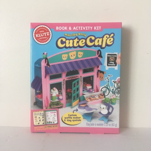 Klutz Mini Clay World Cute Cafe Book & Activity Kit
