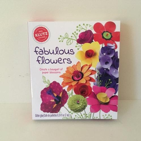 KLUTZ Fabulous Flowers