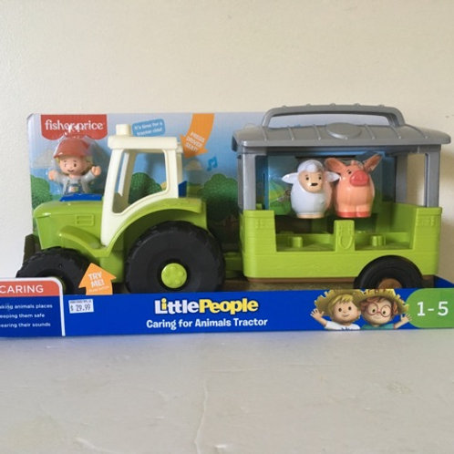 Fisher Price Little People Tractor Set