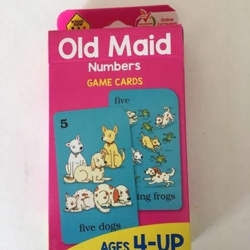 School Zone Old Maid Numbers