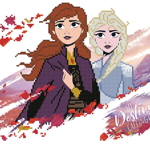 Diamond Dotz Disney Frozen Anna & Elsa