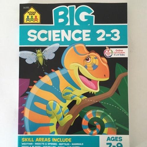 School Zone Big Science 2-3