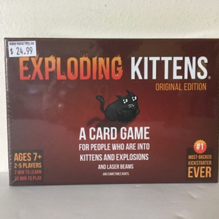 Exploding Kittens Original Edition Card Game