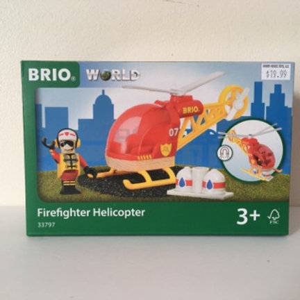 Brio World FireFighter Helicopter #33797
