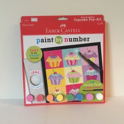 Faber Castell Paint by Number - Cupcakes
