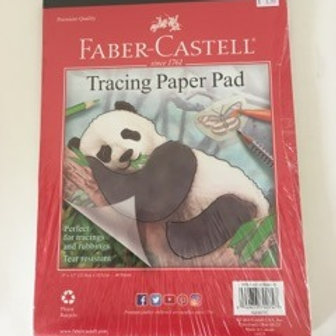 Faber Castell Tracing Paper Pad