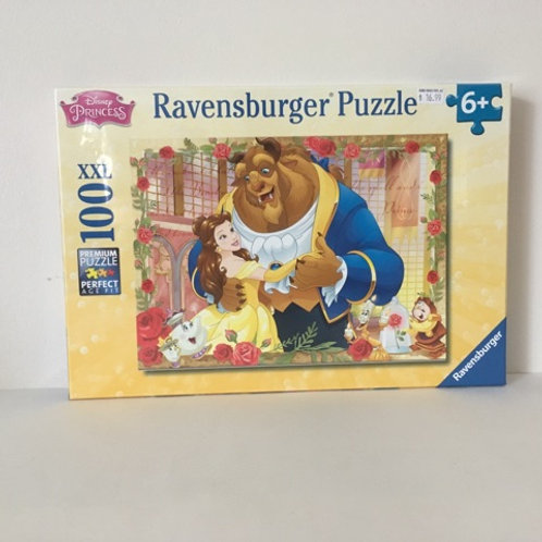 Ravensburger Belle & Beast Puzzle 100 Pc