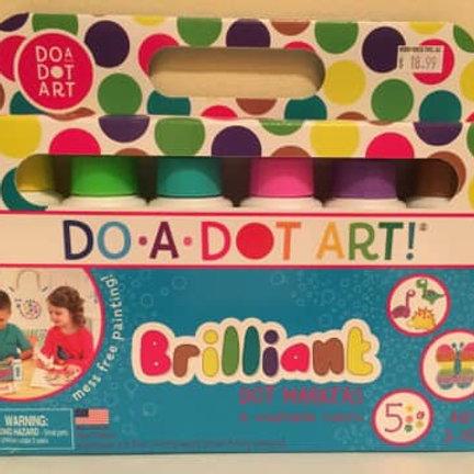 Do a Dot Art Brilliant Dot Markers