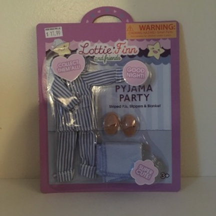 Lottie Doll Pyjama Party Outfit