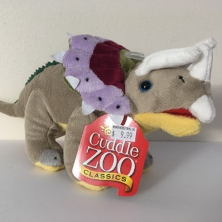 Cuddle Zoo Triceratops Dinosaur Plush