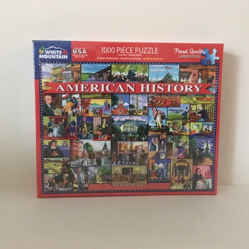 White Mountain American History Puzzle