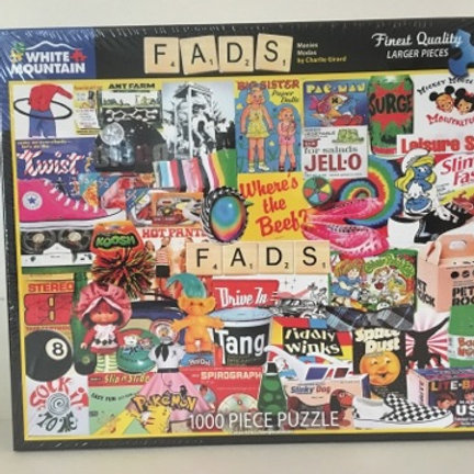 White Mountain 1000 pc Puzzle, Fads