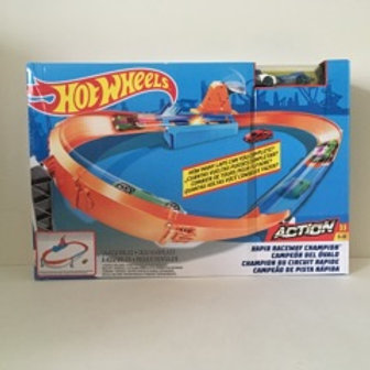 Hot Wheels Rapid Raceway Champion Track Set