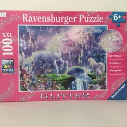 Ravensburger Glitter Unicorn Kingdom