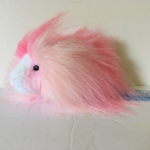 Douglas Rainbow Fuzzles - Bubble Gum Guinea Pig Plush