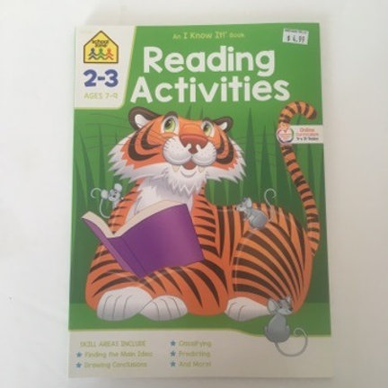 School Zone Reading Activities 2-3