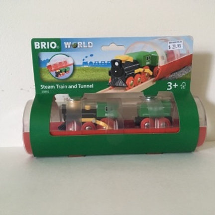 Brio Steam Train and Tunnel #33892