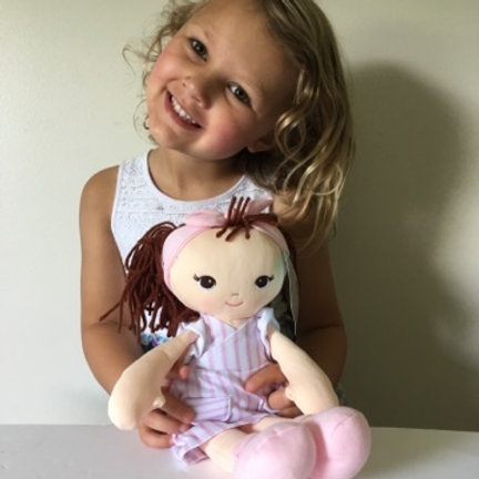 Baby Gund Toddler Doll - Pink Stripes