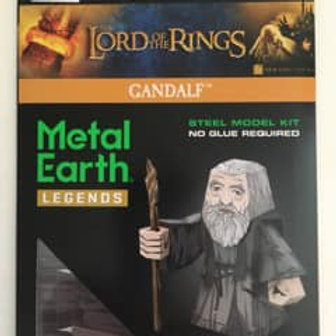 Metal Earth Lord of the Rings Gandalf