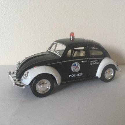 Die Cast VW Police Car