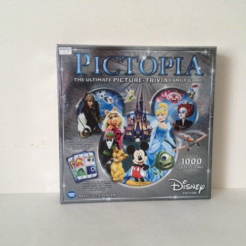 Pictopia Trivia Game - Disney Edition