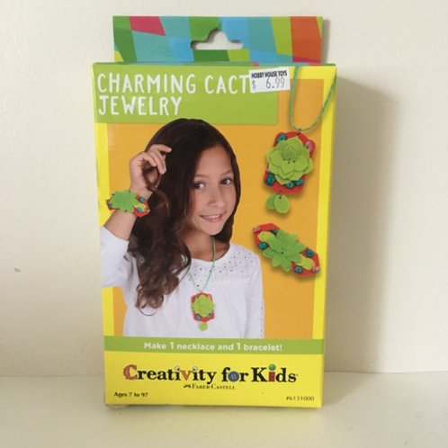 Creativity For Kids - Charming Cacti Jewelry