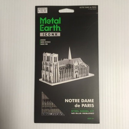Metal Earth Notre Dame of Paris