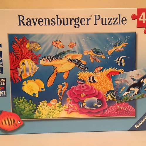 Ravensburger Puzzle 2x24 - Under the Sea
