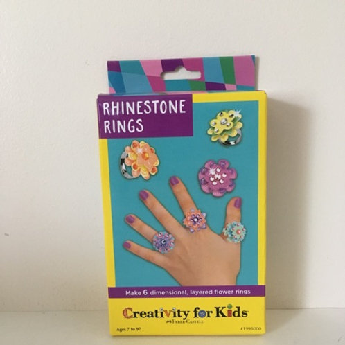 Creativity for Kids - Rhinestone Rings